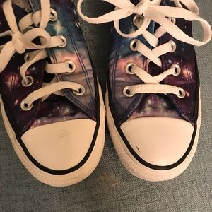 Converse Shoes - Galaxy Print Converse